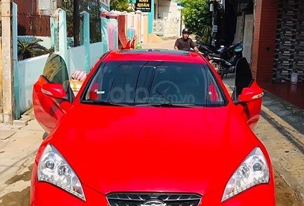 Cần bán gấp Hyundai Genesis 2.0 AT đời 2011, màu đỏ, nhập khẩu nguyên chiếc, giá 530tr4