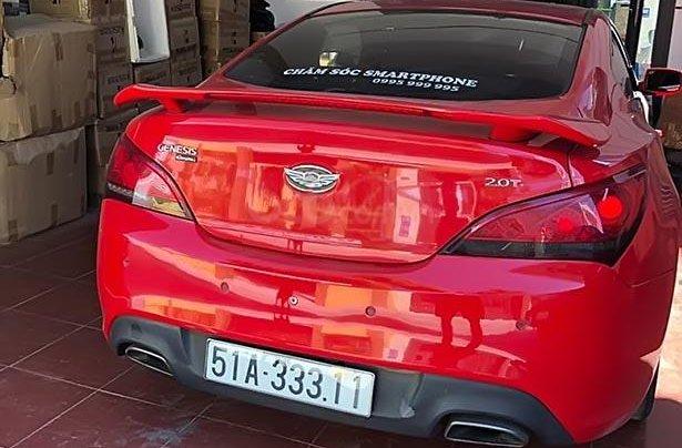 Cần bán gấp Hyundai Genesis 2.0 AT đời 2011, màu đỏ, nhập khẩu nguyên chiếc, giá 530tr1