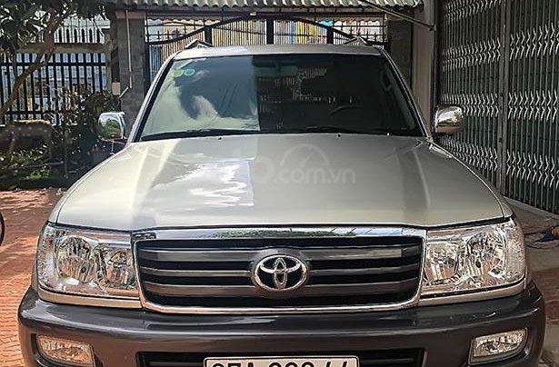 Cần bán xe Toyota Land Cruiser sản xuất 2007, màu bạc  0
