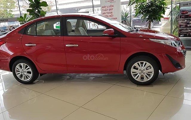 Bán ô tô Toyota Vios 1.5G năm sản xuất 2019, màu đỏ, giá 546tr0