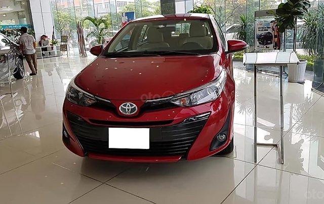 Bán ô tô Toyota Vios 1.5G năm sản xuất 2019, màu đỏ, giá 546tr1