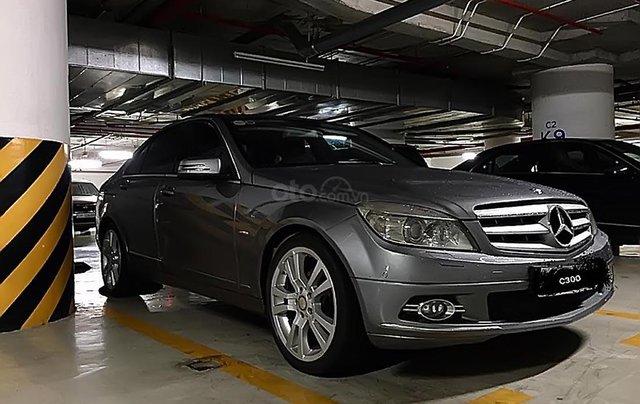 Bán Mercedes C300 Avantgarde sản xuất 2010, màu xám chính chủ, 550tr0