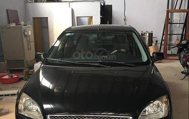 Cần bán lại xe Ford Focus 1.8 MT đời 2008, màu đen số sàn, 220 triệu0