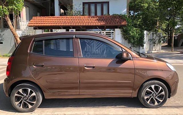 Cần bán Kia Morning LX năm sản xuất 2012, màu nâu xe gia đình giá cạnh tranh1