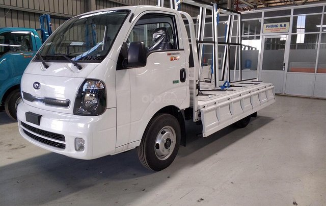 Bán ô tô Thaco Kia K250, động cơ Hyundai sản xuất năm 2019, thùng cải tạo chở kính - Bình Dương - 09448139121