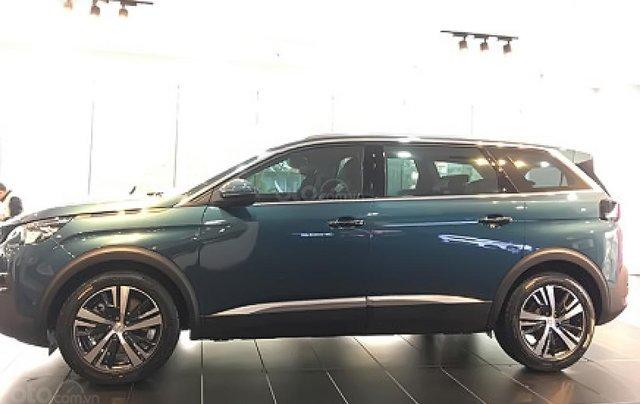 Bán Peugeot 5008 1.6 AT đời 2019, màu xanh lam0