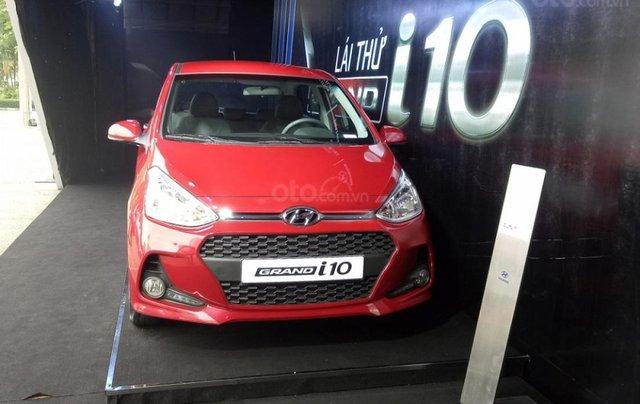 Bán Hyundai Grand i10 1.2 MT đời 2019, màu đỏ1