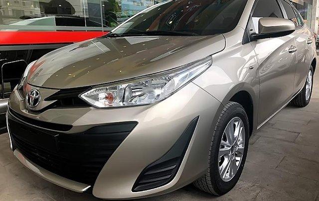 Bán xe Toyota Vios B đời 2019, màu nâu, giá tốt1