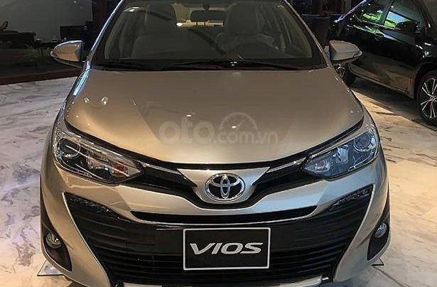 Bán Toyota Vios 1.5G đời 2019, màu vàng giá cạnh tranh1