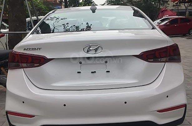 Bán Hyundai Accent 1.4 ATH năm 2019, màu trắng, giá 540tr0