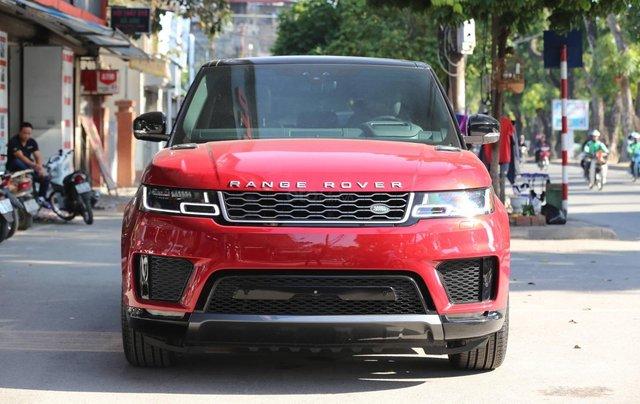 Bán LandRover Range Rover Sport HSE model 2019 màu đỏ, xe nhập mới 100%0