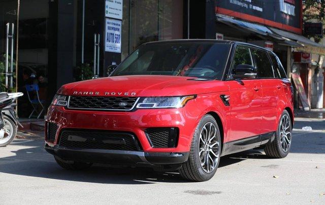 Bán LandRover Range Rover Sport HSE model 2019 màu đỏ, xe nhập mới 100%1