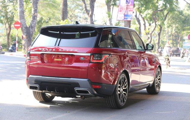 Bán LandRover Range Rover Sport HSE model 2019 màu đỏ, xe nhập mới 100%2