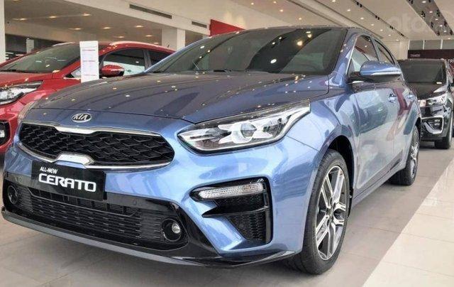 Kia Quảng Ninh bán gấp chiếc KIA Cerato Standard đời 2019, màu xanh lam, giá cực rẻ0
