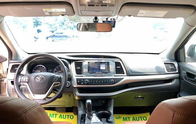 Bán xe Toyota Highlander LE 2.7 2016, màu vàng, nhập Mỹ, LH 0945.39.246814
