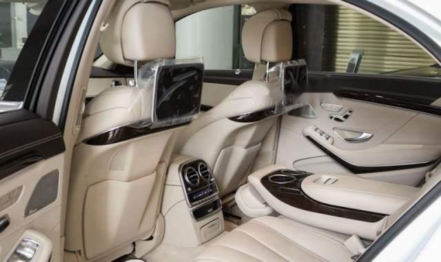 Bán xe Mercedes S450 sản xuất 2018, màu trắng3