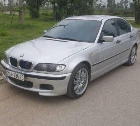 Bán BMW 318i đời 2003, màu bạc, chính chủ0