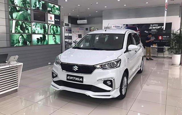 Bán Suzuki Ertiga GLX 1.5 AT năm sản xuất 2019, màu trắng, xe nhập1
