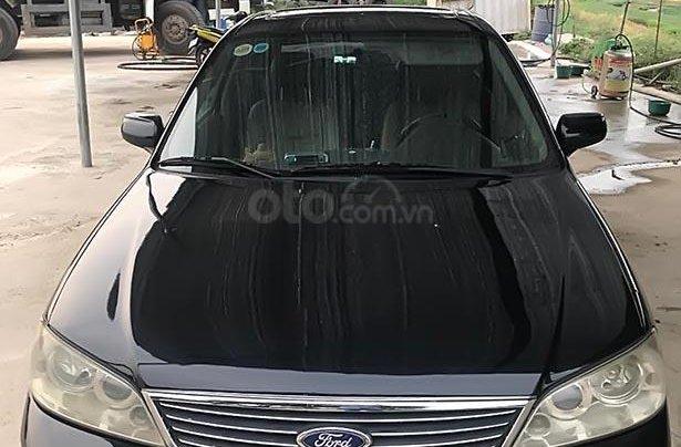 Bán Ford Laser sản xuất 2005, màu đen, ít sử dụng1