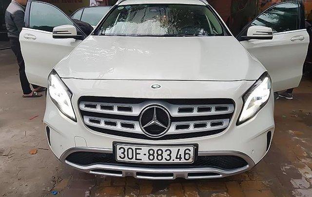 Bán Mercedes GLA 200 đời 2017, màu trắng, nhập khẩu 0