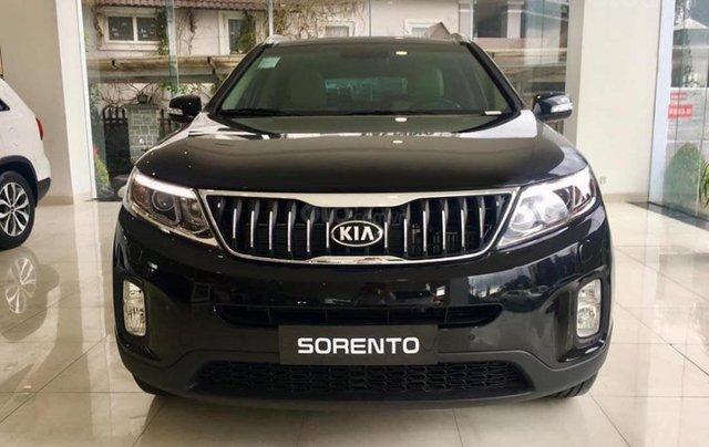 Bán Kia Sorento GATH 2019, màu đen, 919tr1