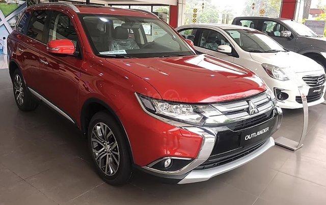 Bán Mitsubishi Outlander 2.4 CVT Premium đời 2019, màu đỏ4