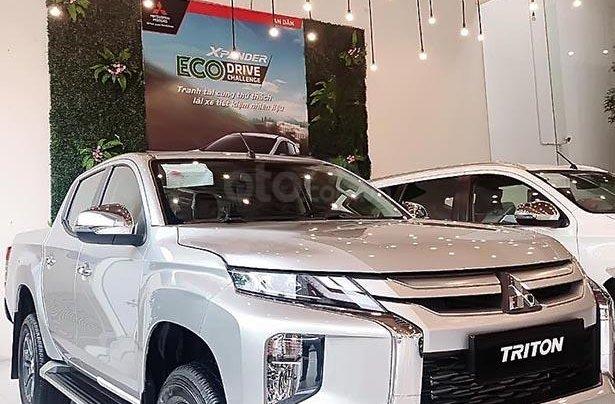 Bán Mitsubishi Triton AT MIVEC sản xuất 2019, màu bạc, nhập khẩu0