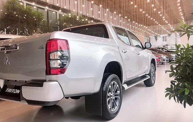Bán Mitsubishi Triton AT MIVEC sản xuất 2019, màu bạc, nhập khẩu1