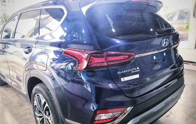 Hyundai Santafe sx 2019, cao cấp một màu xanh duy nhất tại thị trường, xe giao ngay, khuyến mãi khủng1