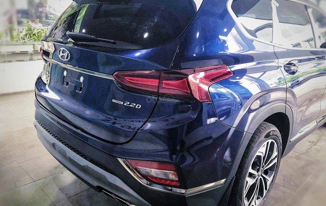 Hyundai Santafe sx 2019, cao cấp một màu xanh duy nhất tại thị trường, xe giao ngay, khuyến mãi khủng3