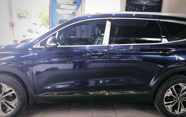 Hyundai Santafe sx 2019, cao cấp một màu xanh duy nhất tại thị trường, xe giao ngay, khuyến mãi khủng5