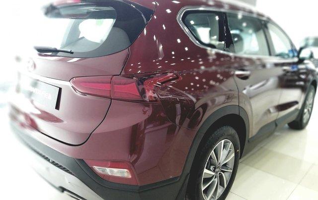 Hyundai Santafe tiêu chuẩn, hỗ trợ ngân hàng 90%, duyệt hồ sơ tỉnh, xe giao ngay, đủ màu0