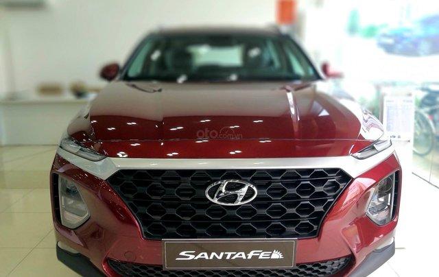 Hyundai Santafe tiêu chuẩn, hỗ trợ ngân hàng 90%, duyệt hồ sơ tỉnh, xe giao ngay, đủ màu3