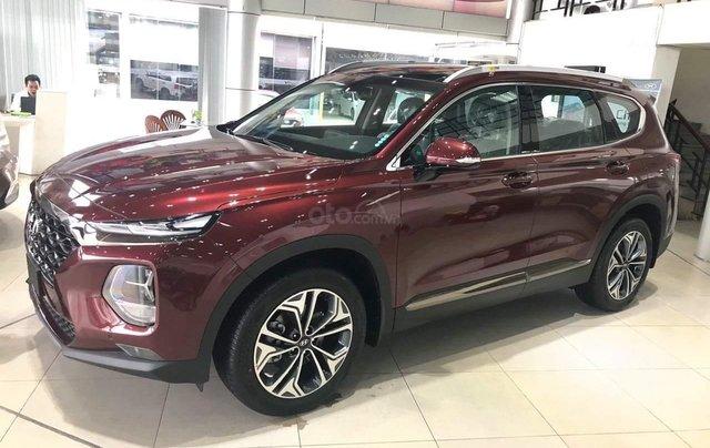 Hyundai Santafe tiêu chuẩn, hỗ trợ ngân hàng 90%, duyệt hồ sơ tỉnh, xe giao ngay, đủ màu2