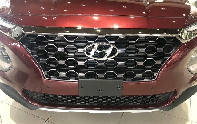Hyundai Santafe tiêu chuẩn, hỗ trợ ngân hàng 90%, duyệt hồ sơ tỉnh, xe giao ngay, đủ màu6