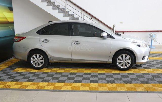 Cần bán xe Toyota Vios E 1.5AT sản xuất 2017, màu bạc1