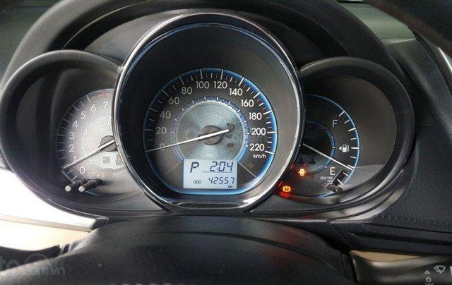 Cần bán xe Toyota Vios E 1.5AT sản xuất 2017, màu bạc10