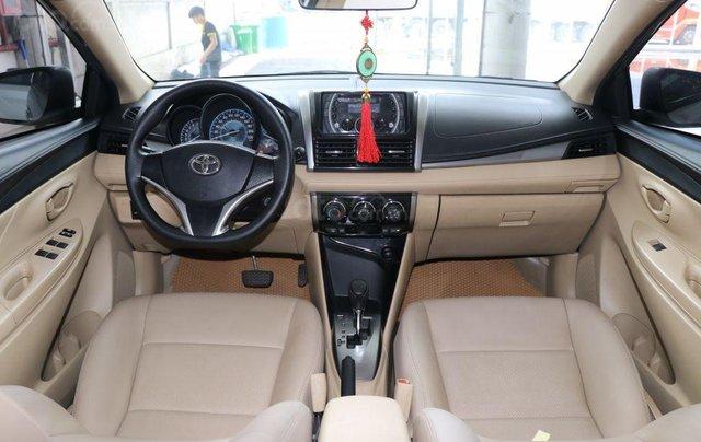 Cần bán xe Toyota Vios E 1.5AT sản xuất 2017, màu bạc8
