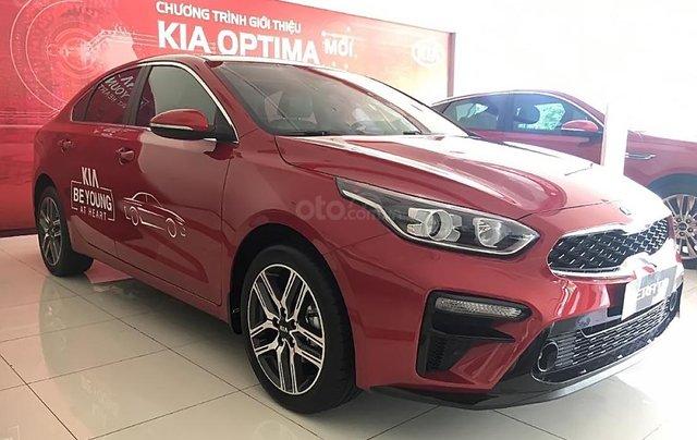Bán Kia Cerato 1.6 AT Deluxe đời 2019, màu đỏ, giá tốt0