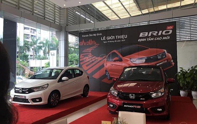 Bán ô tô Honda Brio RS 2019, màu đỏ, nhập khẩu nguyên chiếc, 450 triệu1
