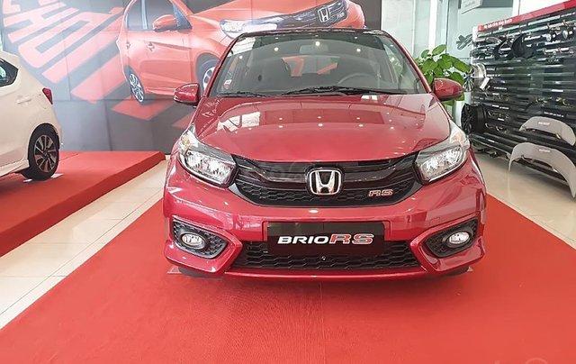 Bán ô tô Honda Brio RS 2019, màu đỏ, nhập khẩu nguyên chiếc, 450 triệu0