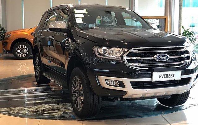 Bán Ford Everest Titanium 2.0L 4x4 AT đời 2019, màu đen, nhập khẩu0