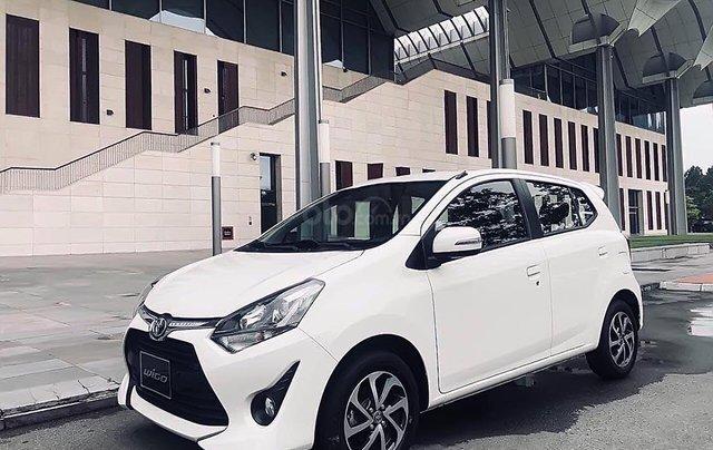 Bán Toyota Wigo 1.2G AT 2019, màu trắng, nhập khẩu nguyên chiếc0