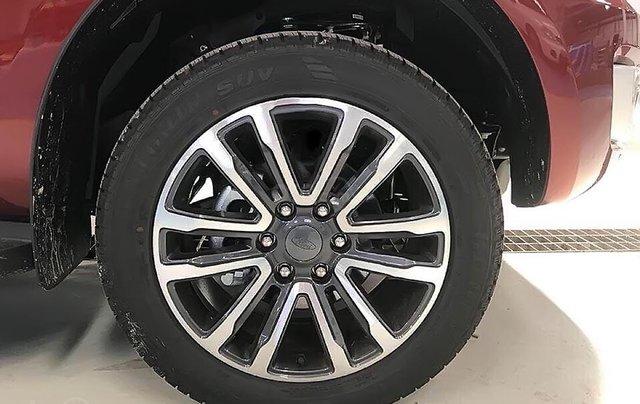 Bán xe Ford Everest Titanium 2.0L 4x2 AT sản xuất năm 2019, màu đỏ, nhập khẩu3