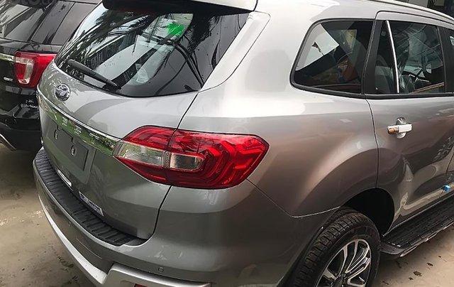 Cần bán Ford Everest Titanium 2.0L 4x2 AT 2019, màu bạc, xe nhập1