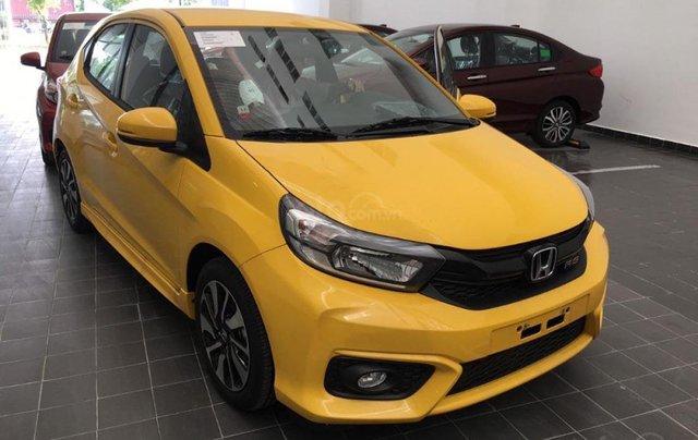 Bán ô tô Honda Brio RS sản xuất 2019, màu vàng, nhập khẩu nguyên chiếc4