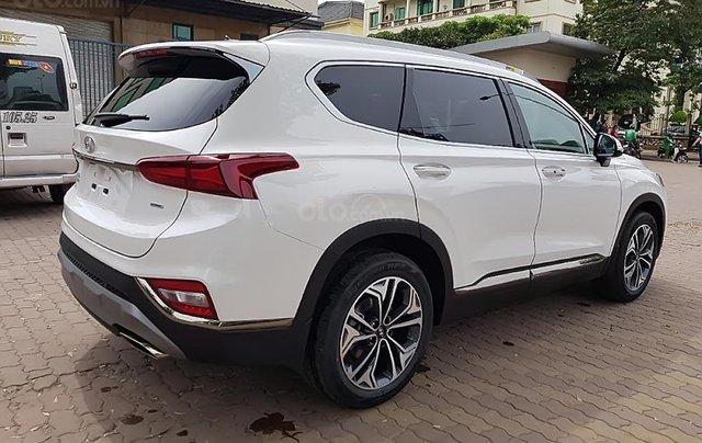 Bán Hyundai Santa Fe 2.2 HTRAC năm sản xuất 2019, màu trắng0