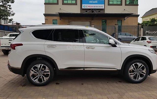 Bán Hyundai Santa Fe 2.2 HTRAC năm sản xuất 2019, màu trắng4