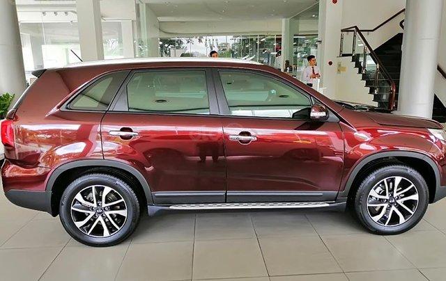 Bán Kia Sorento Premium D sản xuất 2019, màu đỏ, giá cạnh tranh0