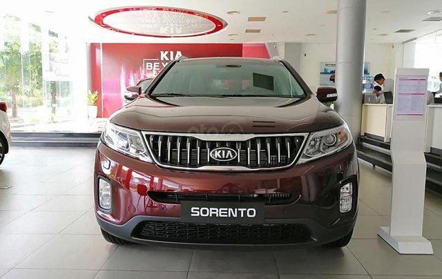 Bán Kia Sorento Premium D sản xuất 2019, màu đỏ, giá cạnh tranh4